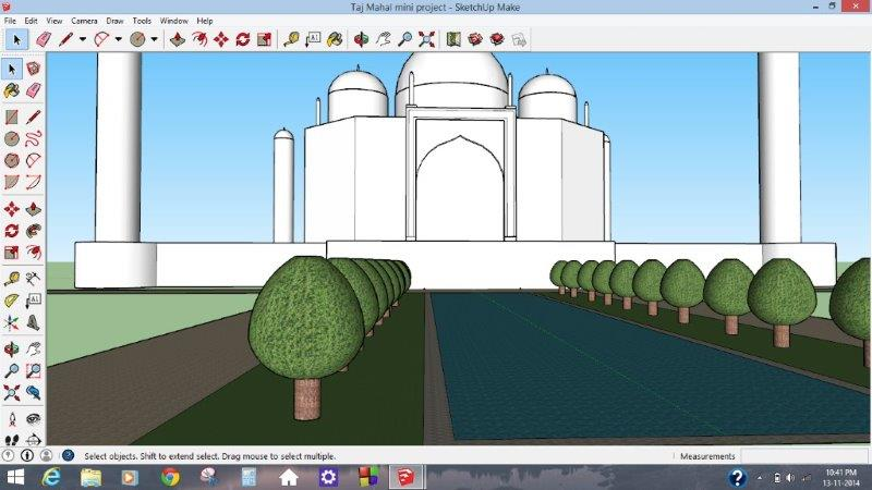 3D Modeling on Google Sketchup - System Management 2014